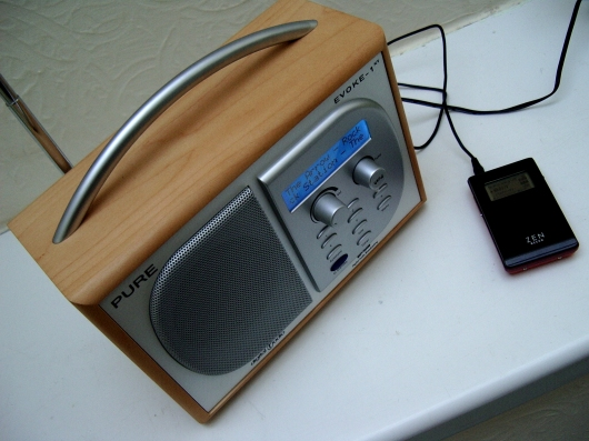 Pure Digital Evoke 1XT DAB digital radio