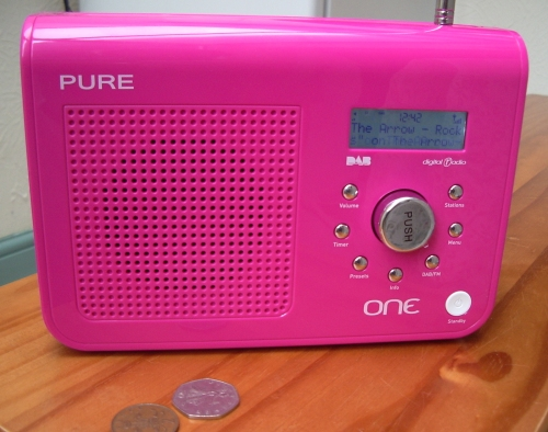 Pure One DAB/FM portable DAB digital radio