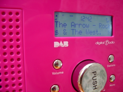 Pure One DAB radio review - view of the display and controls