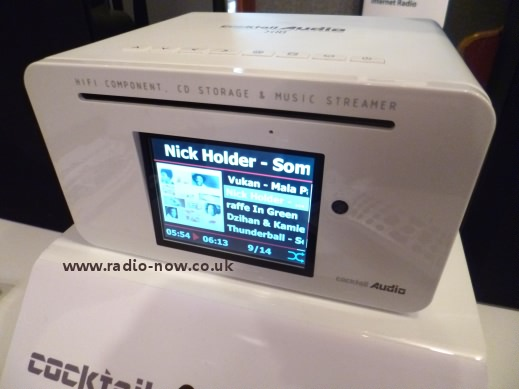 Cocktail Audio X10 in white