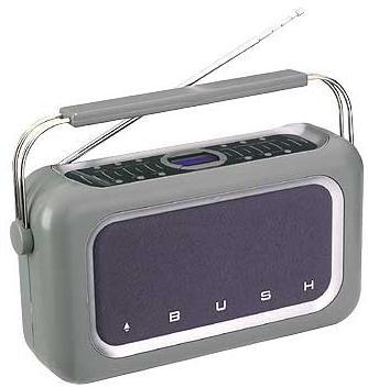 Bush TR2003 Stereo DAB digital radio (twin speakers)