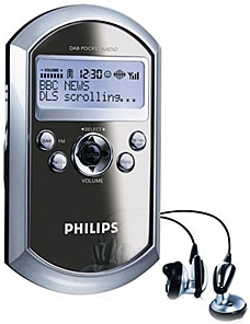 Philips DA1000 DAB handheld