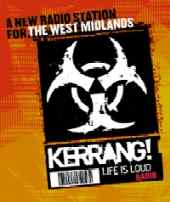 Kerrang! - life is loud logo