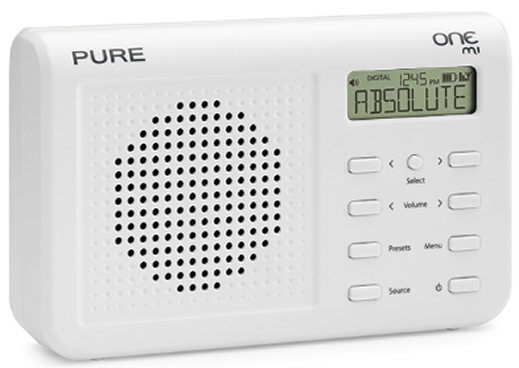 Pure One Mi DAB radio with FM