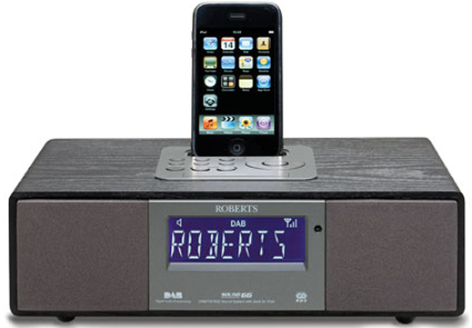 Roberts Sound 66 iPod dock with DAB/FM radio
