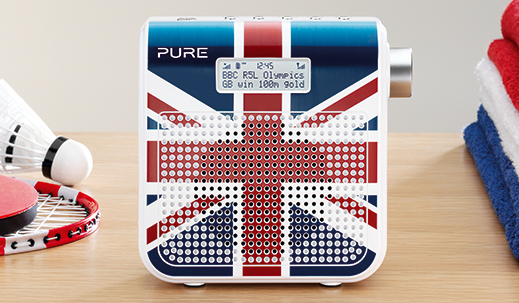 Union Jack version of Pure One Mini