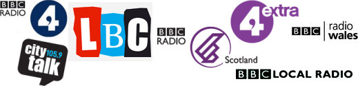 news, talk, plays, speech, discussion and spoken word stations and BBC local radio stations