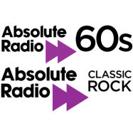 Information about Absolute Radio 60s and Classic Rock stations