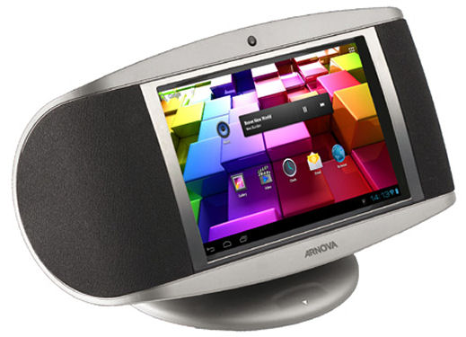 Arnova SoundPad tablet with amplifier and speakers