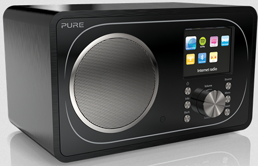 Pure Evoke F3 internet radio