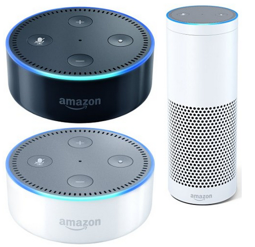 Amazon Echo 2nd Generation and Amazon Echo
