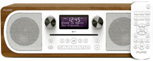 Pure Evoke C-D6 DAB with CD player