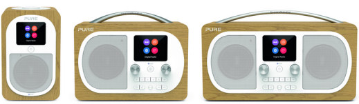 Pure have released its new range of Evoke H series DAB digital radios