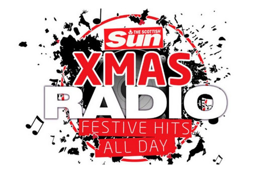Scottish Sun Xmas Radio logo
