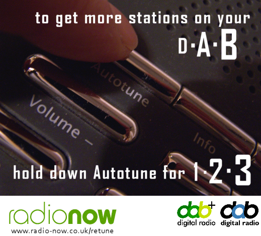 radionow.co.uk DAB radio retune information
