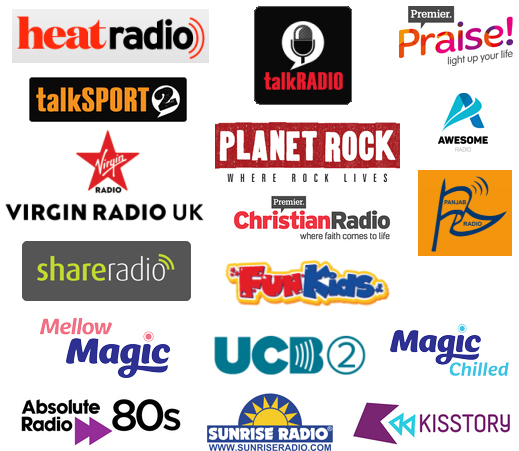 Sound Digital lineup of 18 stations on DAB