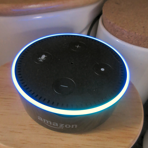 Photo of Amazon Echo Dot with Alexa enabled digital assistant - tips and tricks for listening to radio