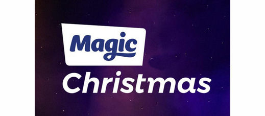 Magic Christmas radio station unofficial logo