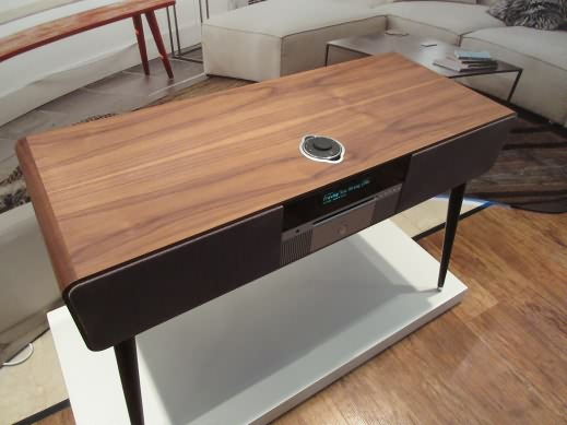 Ruark R7 high fidelity radiogram in walnut finish