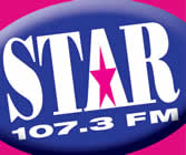 All new Star 107.3 Bristol logo