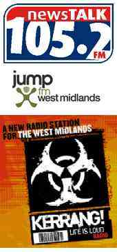 West Midlands FM licence applicant logos